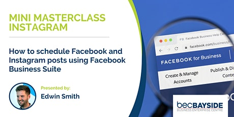 How to schedule Facebook and Instagram posts using Facebook Business Suite tickets