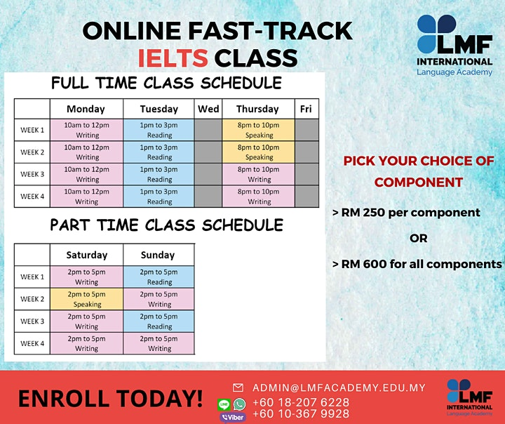 ONLINE FAST-TRACK IELTS SCORING CLASS (Malaysia) image