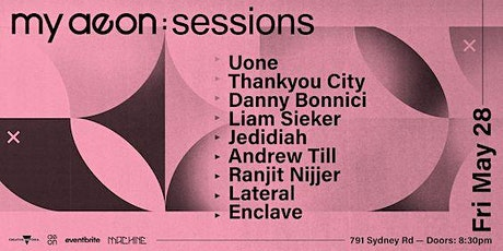 my aeon: sessions tickets