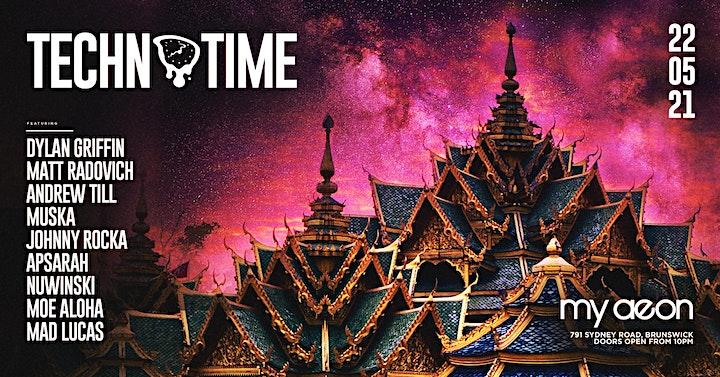 Techno Time presents Exit The Matrix △ My Aeon 22.05 image