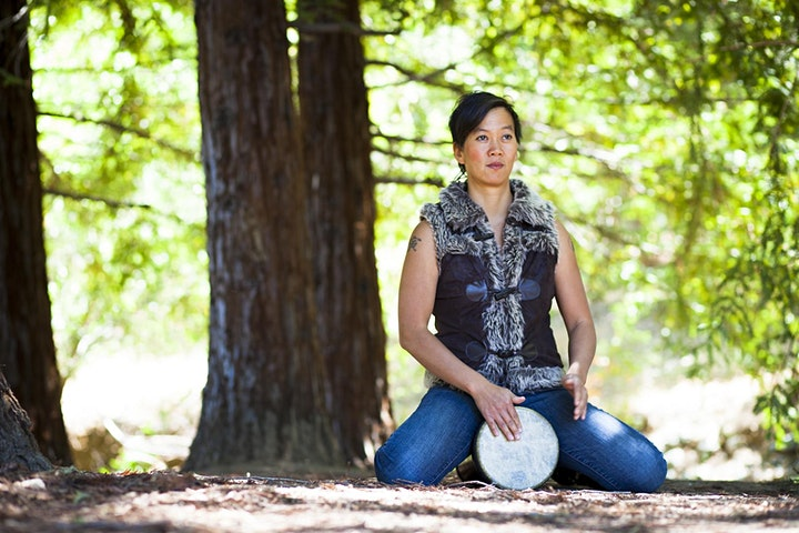 Free Your Voice while Drumming 8 wk Outdoors in person class w/ Amber Field image