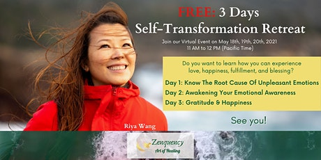 3 Days FREE Self-Transformation Retreat tickets