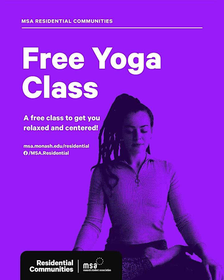 Free Yoga Classes – Semester Two image