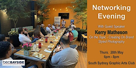 Network & Learn over after work drinks with guest speaker Kerry Matheson tickets