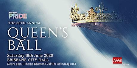 Brisbane Pride Queen's Ball 60th Anniversary tickets