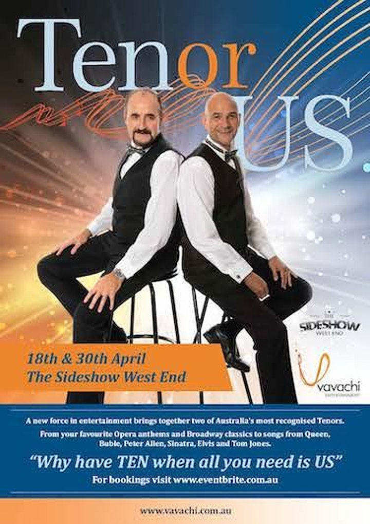 TenorUS in Concert-Brisbane image