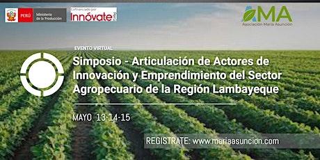 Articulación de Actores de Innovación y Emprendimiento Agropecuario boletos