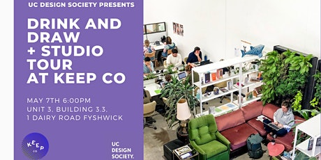 Drink and Draw + Studio Tour at Keep Co tickets