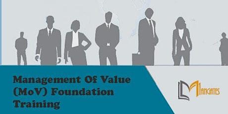 Management of Value (MoV) Foundation  2 Days Virtual  Training in Hamburg tickets
