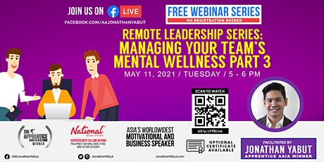 How to Manage Mental Wellness of Your Employees, Part 3 tickets