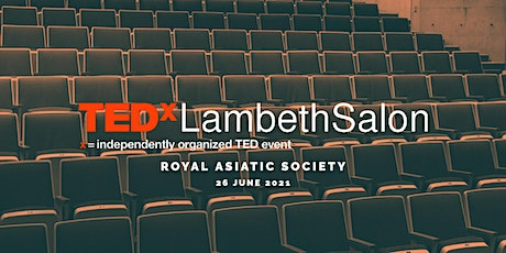 TEDxLambethSalon (in-person) tickets
