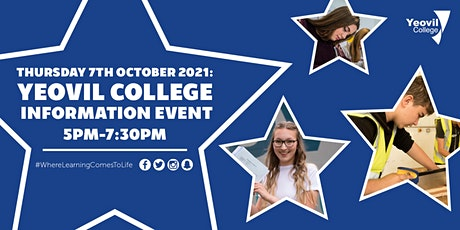 Yeovil College Information Evening - October 2021 tickets