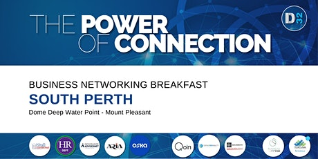 District32 Business Networking Perth– South Perth - Wed 19th May tickets
