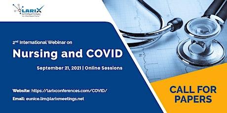 2nd International Webinar on Nursing and COVID biglietti
