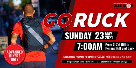 Go Ruck Warrior Fitness - Zi Zai Hill to Penang Hill and back tickets