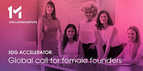 SDG Accelerator- Global Female Founders 2021 biglietti