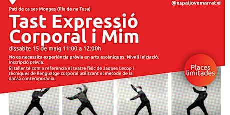 TALLER TAST: EXPRESSIÓ CORPORAL I MIM entradas