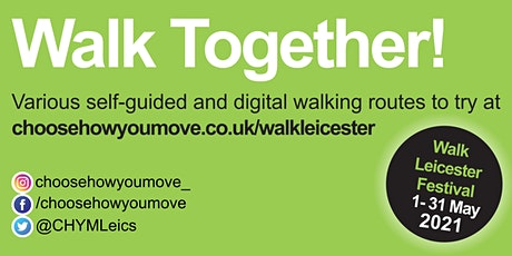 Walk Leicester - Walk Together billets