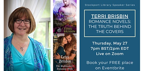 Romance Novels: Truth Behind the Covers  -Author Evening with Terri Brisbin tickets