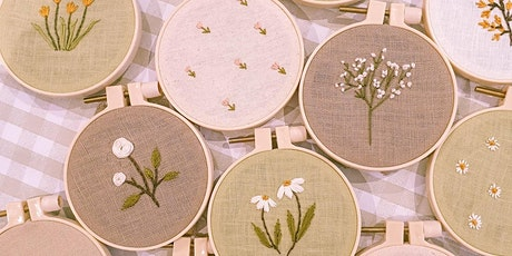 Botanical Embroidery Workshop by Beadbadwolf tickets