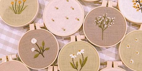 Botanical Embroidery Workshop by Beadbadwolf tickets