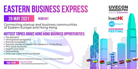 Eastern Business Express - Connecting Eastern Europe and Hong Kong tickets