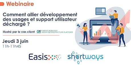 Comment allier développement des usages et support utilisateur déchargé ? billets