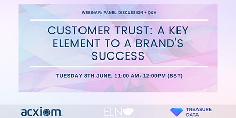 Customer Trust: A Key Element to a Brand's Success tickets