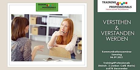 """Kommunikationsseminar """"Verstehen & Verstanden werden"""" Tickets"""