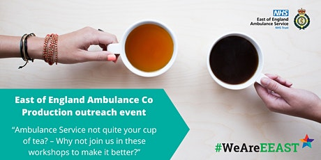 East of England Ambulance Service - Involvement Co-Production event 12 tickets