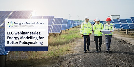 WEBINAR: How can models best address energy sector challenges? tickets