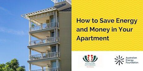 How to Save Energy and Money in Your Apartment - Willoughby City Council tickets
