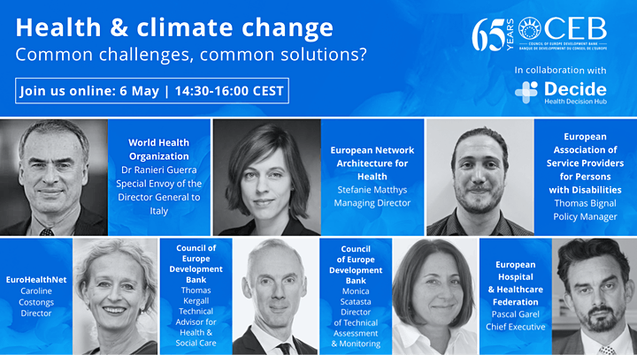 CEB Webinar Health and Climate Change image