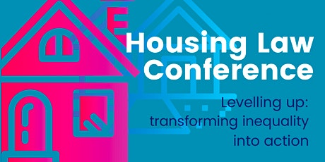 Legal Action Group Housing Conference tickets