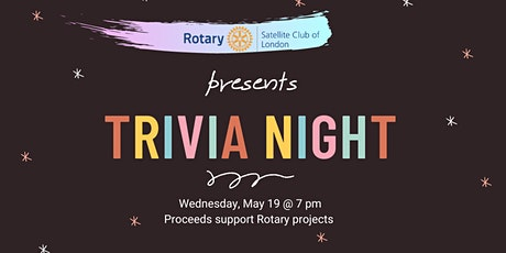 Rotary Virtual Trivia Night - May Edition tickets