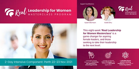 Real Leadership for Women 8-Week Masterclass Program - PERTH tickets