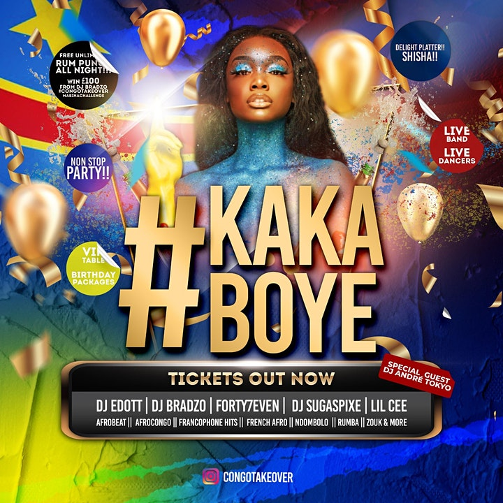 CongoTakeOver Hall Party #KakaBoye image