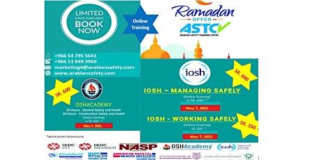 OSHAcademy, USA/IOSH, UK Online Training tickets