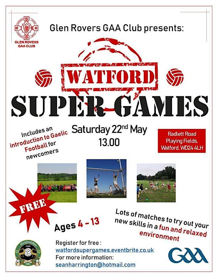 Watford Super Games - Gaelic Football for Beginner image