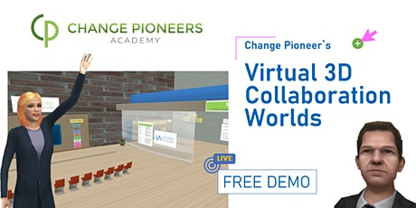 FREE DEMO - CP Virtual 3D Collaboration Worlds Tickets