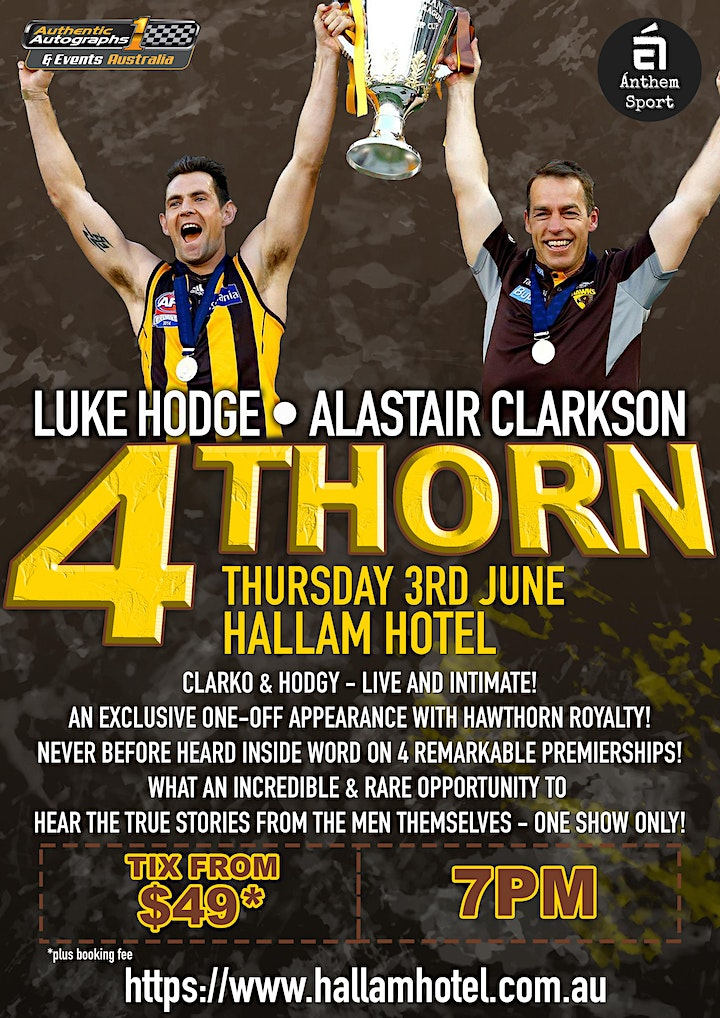 4Thorn feat Clarko & Hodgy LIVE & intimate at The Hallam Hotel! image