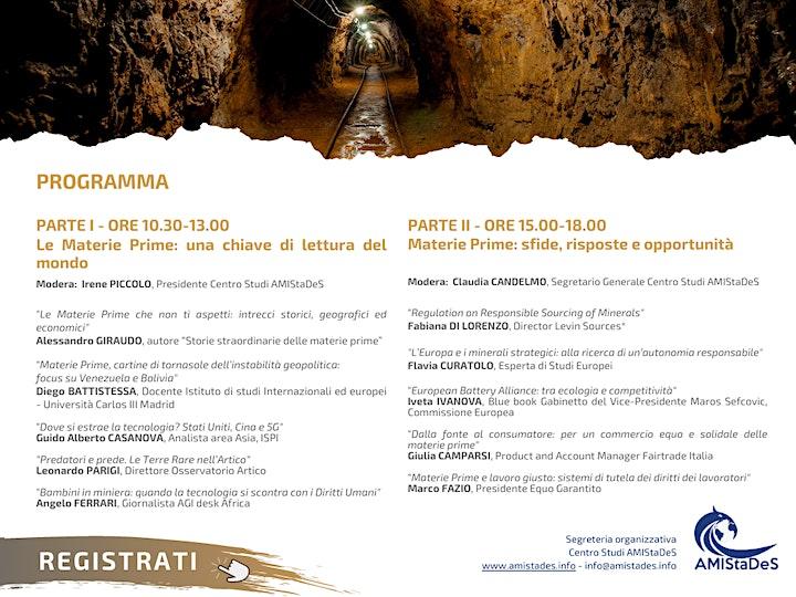 """Immagine Conferenza """"SILENT WAR: L'eterna Lotta per le Materie Prime"""""""