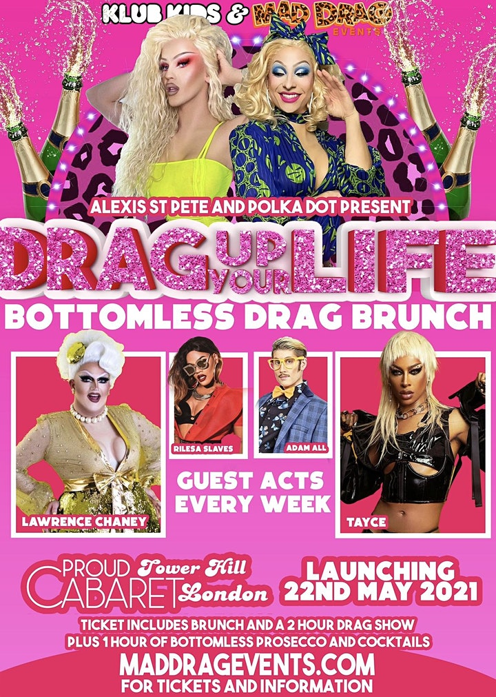 KLUB KIDS LONDON - THE DRAG BRUNCH (Lawrence Chaney & Tayce) Ages 18+ image