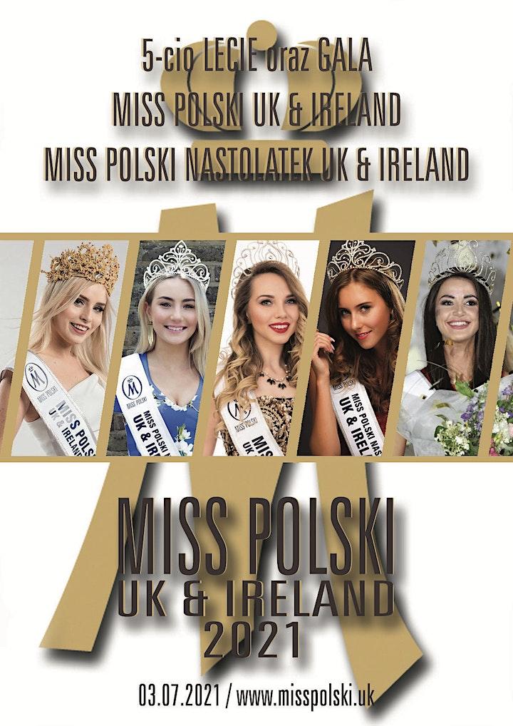 Gala Miss Polski i Miss Polski Nastolatek UK & Ireland 2021 image
