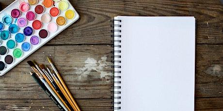 LIVE Nature-Inspired Art Class [Mental Health Awareness Week] tickets