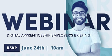 Creative Process: Digital Apprenticeships - Employer's Briefing Webinar tickets
