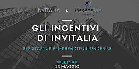Gli incentivi di Invitalia per startup e imprenditori under 35 biglietti