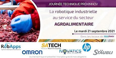 La robotique industrielle au service du secteur agroalimentaire billets
