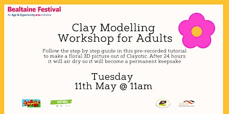 Clay Modelling Workshop for Adults tickets