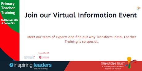 Transform Initial Teacher Training Information Event tickets